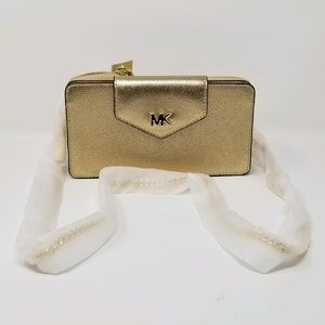 Michael Kors Gold Crossbody Bag
